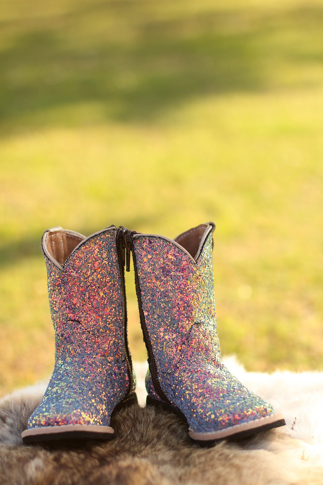 Mermaid Sparkle Cowgirl Boots – AddyMay