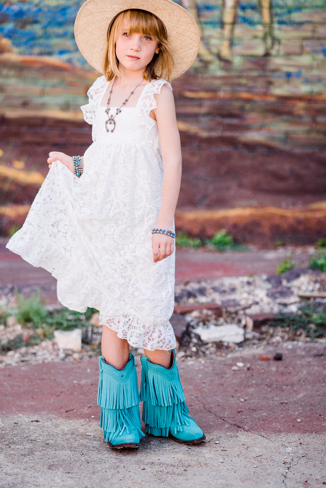 Prairie Love White Dress