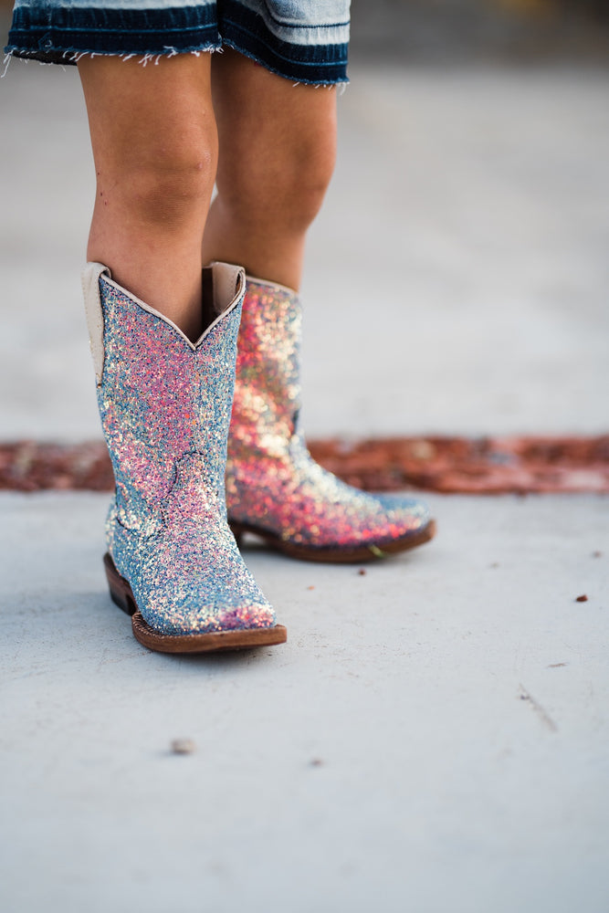 Mermaid Sparkle Boots