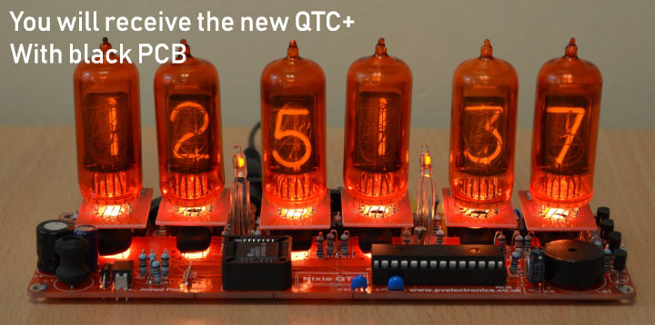 QTC+ Nixie Clock Kit – Retrotech Labs Limited