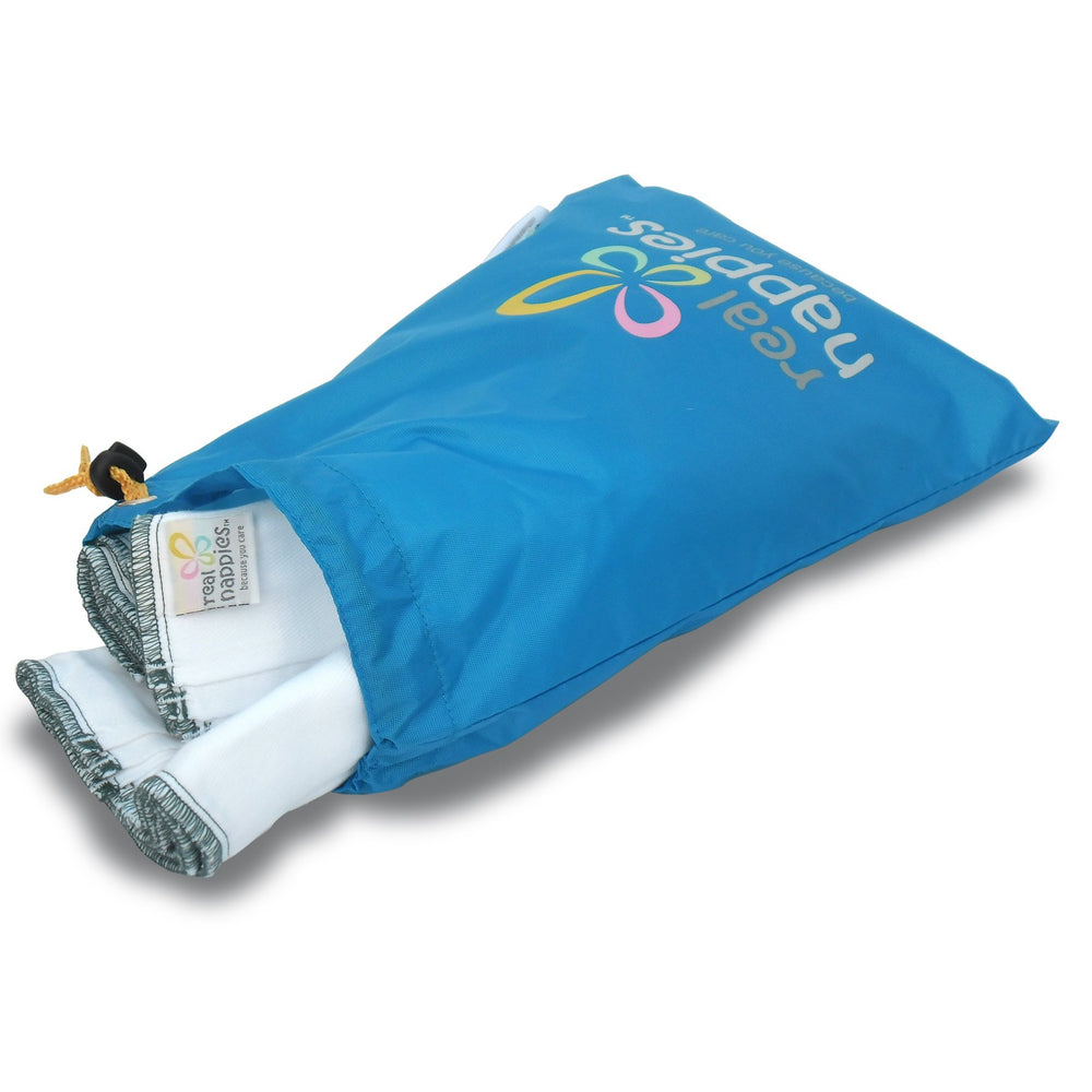 Real Nappies reusable cloth nappies-Waterproof Laundry Bag-