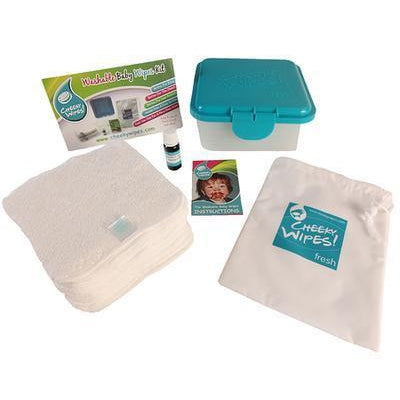 Real Nappies reusable cloth nappies-Mini Kit Reusable Wipes-