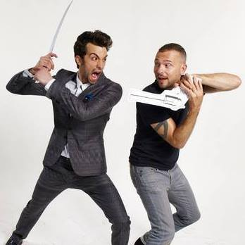 Lee Powers Co-Founder + Creative Director at Super Super Dope (On set with actor Jay Baruchel)