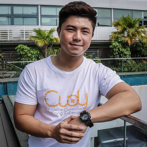 Alexander Lim Co Founder + CEO Cudy