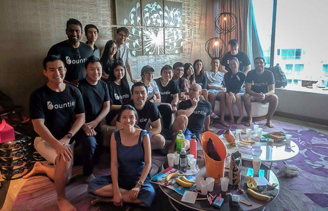 The Bountie Team in Singapore