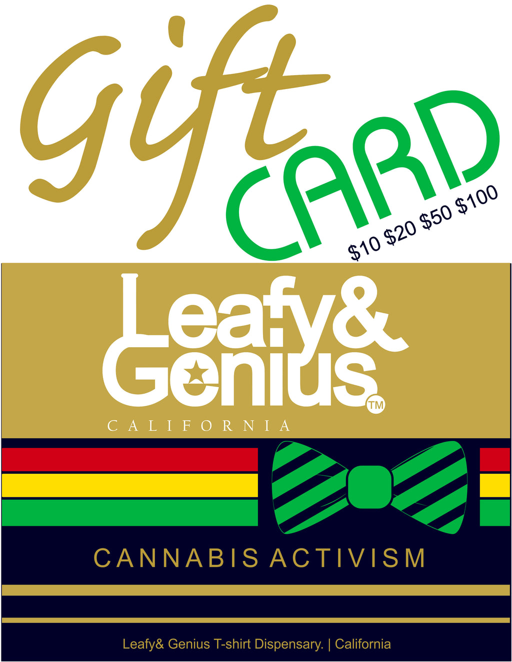 Cannabis Celebration Gift Card