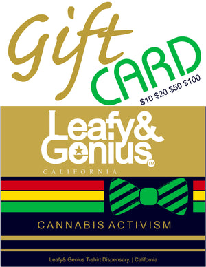 Cannabis Celebration Gift Card - CaribCreed (California) Clothing