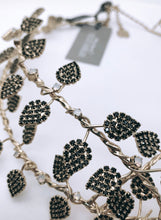 "BIG SCULPTURE ""LEAVES"" NECKLACE"
