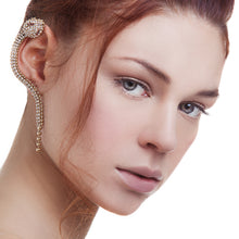 vittorio ceccoli jewelry design viper ear cuffs jewel gold palladium black