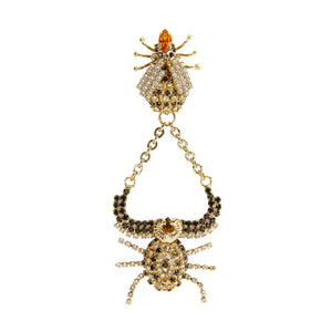 vittorio ceccoli jewelry design bee and stag chandelier mono earring jewel