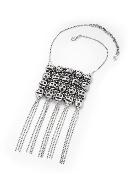 MUNK NECKLACE WITH FRINGES
