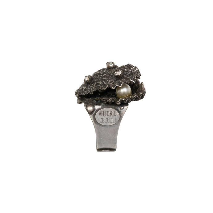 vittorio ceccoli jewelry design oyster ring jewel gold silver