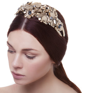 vittorio ceccoli jewelry design pansy double headband jewel gold