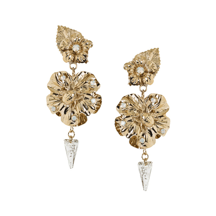 vittorio ceccoli jewelry design earrings with leaves and insects jewel gold silver