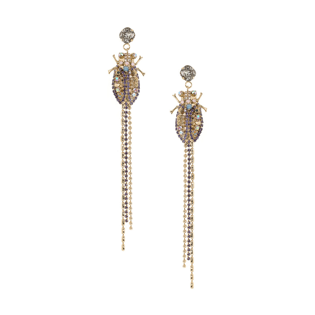 vittorio ceccoli jewelry design cicada earrings jewel gold