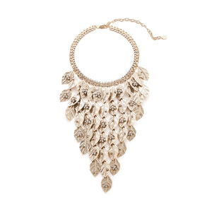 vittorio ceccoli-jewelry design winter tale necklace with snow flower jewel gold