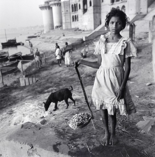 Burning Ghat, Benares, India, 1989 by Mary Ellen Mark
