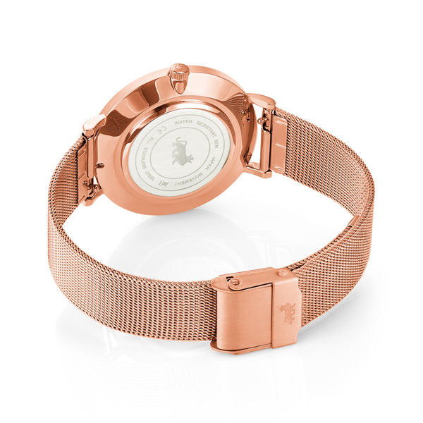 The Jilly 36mm Rose Gold