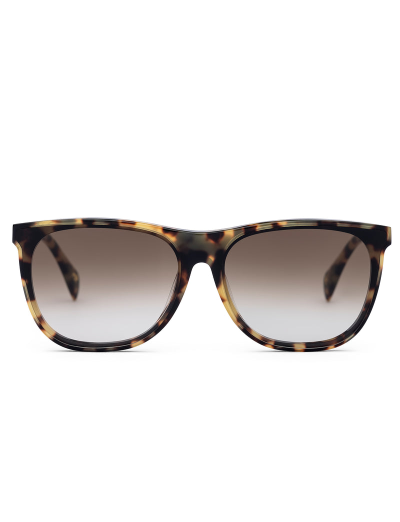 Light Havana Wayfarer Sunglasses