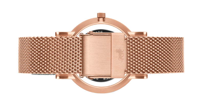 16mm Rose Gold Premium Milanese Strap