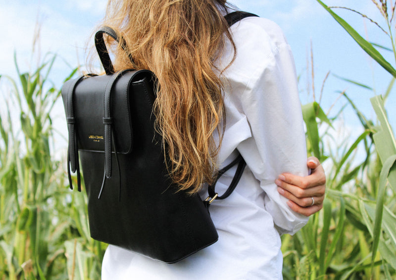 Gaia Vegan Leather Backpack