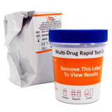 16 panel drug testing cup test with twin adulteration tests
