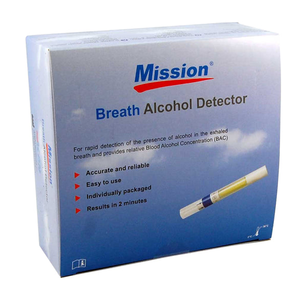 single use mission breathalyser kits