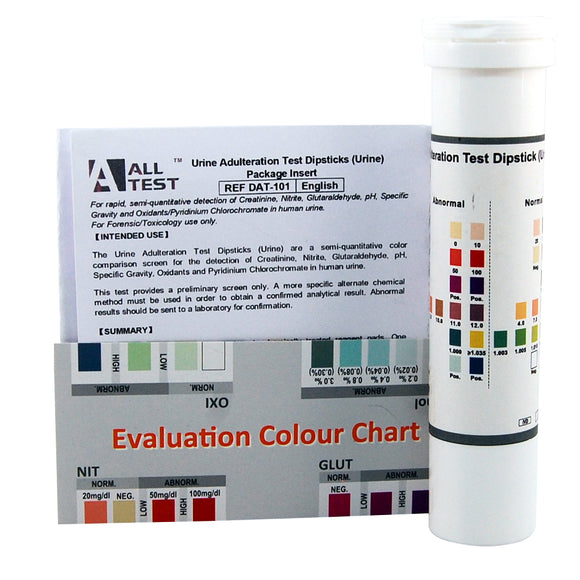 adulteration test strips for urine drug testing