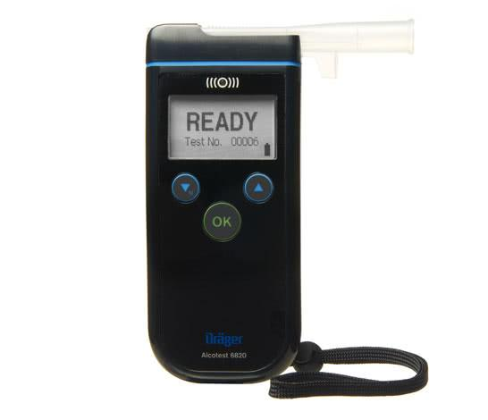 Draeger AlcoTest 6820 certified breathalyser