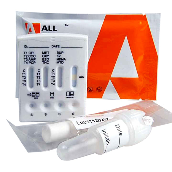 ALLTEST 13 panel saliva drug testing kit DSD-8135 ALL Test Drug Test
