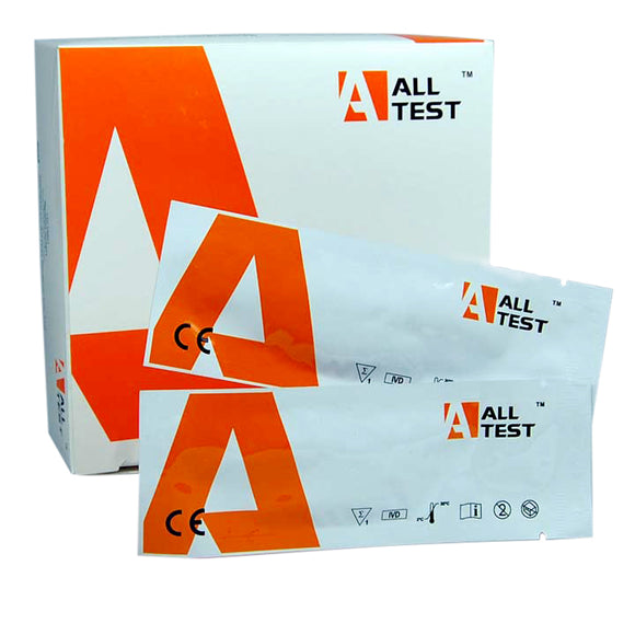 Cocaine urine drug testing strips kits UK ALLTEST