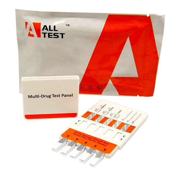 5 panel Combo 1 Urine Drug Test Kits ALLTEST UK