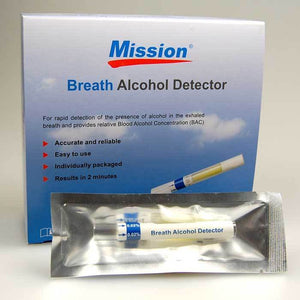 Mission breath alcohol test kits 0.02%BAC