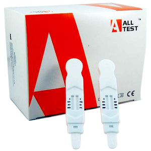 6 plus 6 saliva drug testing kit for 12 common drugs ALLTEST