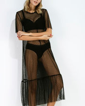 Perspective Lace Dress Slim And Long Outer Cover