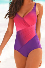 Spaghetti Strap  Gradient One Piece