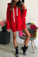 Fashion Loose Winter Plain Hoodie