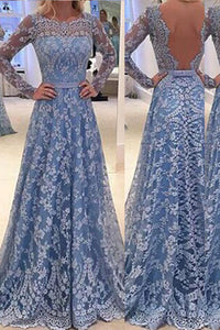 Lace Stitching Hollow Out Maxi Long Dress
