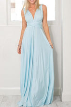 Multi- Way Plain Maxi Dresses