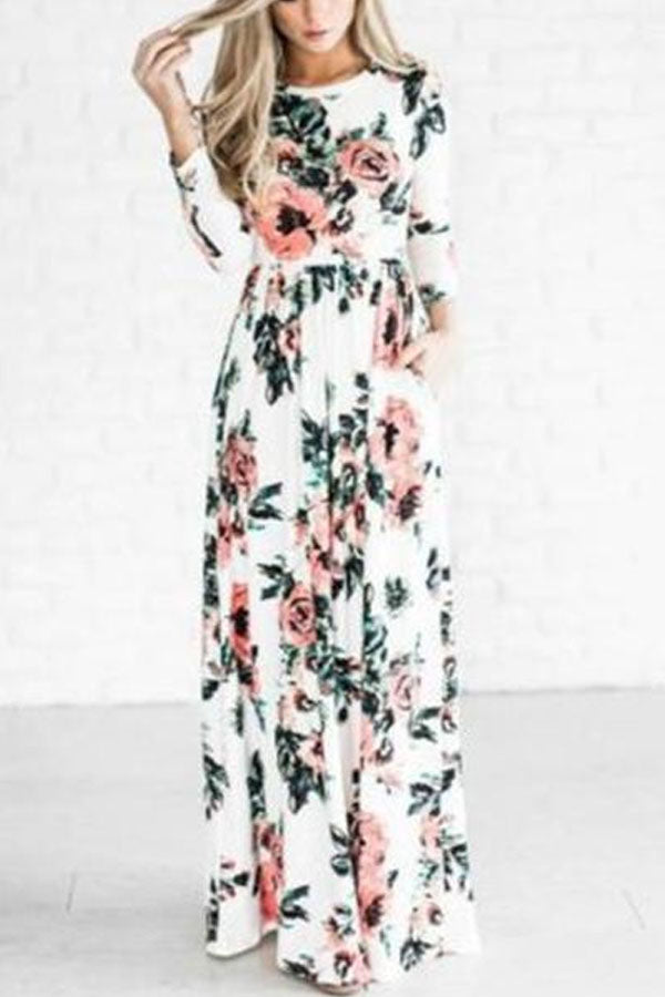 Long Sleeve Maxi Dresses