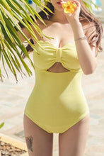 Halter  Backless  Removable Tie  Plain One Piece