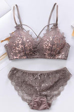 Gather Small Chest Sexy Thin Lace Embroidery Triangle Cup Bras