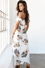 Strapless Printed Maxi Dresses