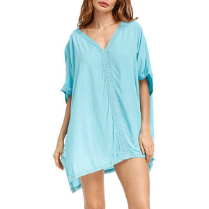 Bikini Blouse Beach Dress