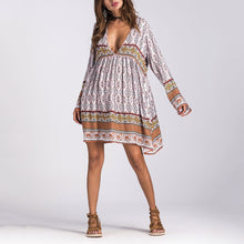 Bohemian Vacation Dress