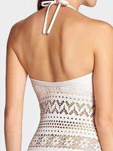 Halter  Rivet  Hollow Out One Piece