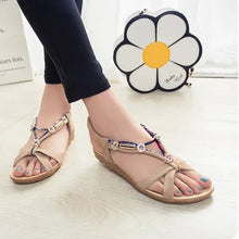 Bohemia Beaded Comfortable Soft Flat shoes