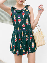 Doll Collar  Printed One Piece