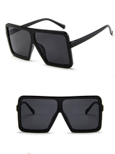 Plain Large Frame Sunglasses