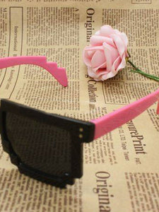 Plain Mosaic Retro Sunglasses